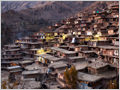 Evening in the Sar Agha Seyed village, located deep in the Zagros mountains of Iran.